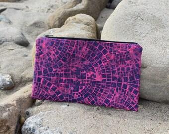 Pink ,makeup bag, travel bag, pencil case
