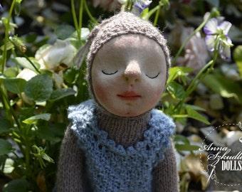 Robalek - handmade doll- textile doll- fabric doll- rag doll- home decoration- handmade toy