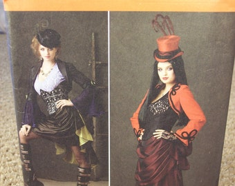 Uncut Simplicity Pattern #1819 HH Women Sizes 6,8,10,12 Period Custume (Victorian)