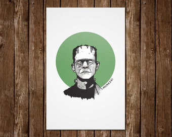 It's Alive! Frankenstein Print - 11x17