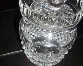 Waterford Lidded Sugar Bowl
