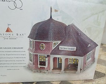 Dept. 56 Seasons Bay Creamery 1st Edition