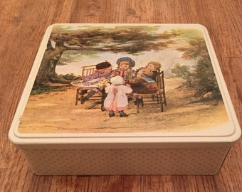 Massilly France Childrens Tin