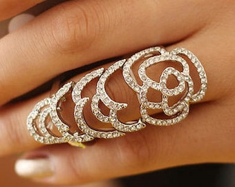 Crystal Rose Gold Plated