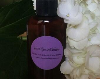 Lavender Body & Room Spray