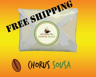 Chorus Sousa - Sublime and Energetic - 11-12 oz roasted whole specialty coffee beans