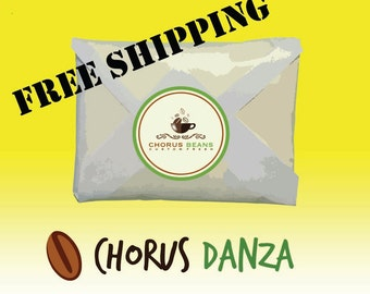 Chorus Danza - Sweet and Sophisticated - 11-12 oz roasted whole specialty coffee beans