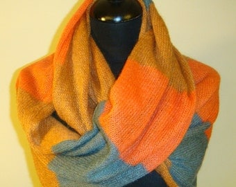 circular scarf double face