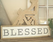 "Blessed 18"" Handpain..."