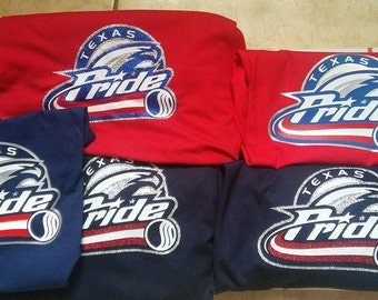 Team Pride Shirts Customized Listing