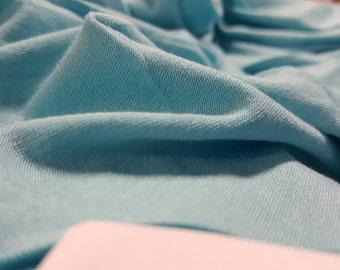 Turquoise Rayon Spandex
