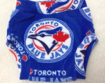 Toronto Blue Jays Fleece Soaker Cloth Diaper Cover