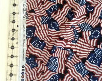 Prid&Glory by Dan Morris rjr fabric 2068