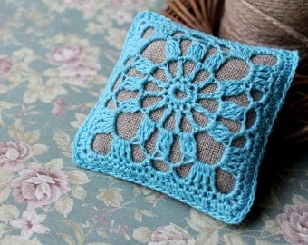 Linen Pincushion, Handmade Pincushion, Home decor, Pincushion