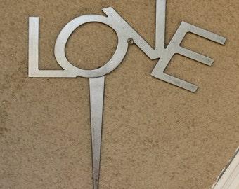 Love Garden Art Sign