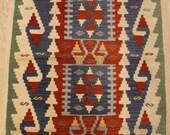 "Handmade Rug Kilim, Turkish Vintage Rug Kilim, Area Rug Kilim, Floor Rug Kilim, Decorative Rug Kilim, Home Decor Rug Kilim, 119x78cm,47""x31"""