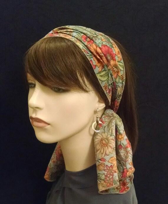 Breezy flowers soft as silk full headband