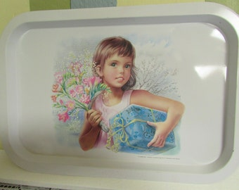 VINTAGE Martine Tray / VTG Martine Collection tray / VTG Martine Collection rectangular tray