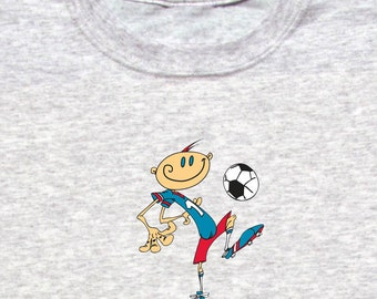 Happy Soccer Player Shirt