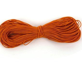 50m Orange Kandi Elastic String