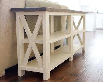 Ashmore Farmhouse Console Table