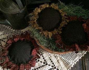 Sunflower Primitive Bowl Fillers Summer Decor