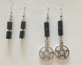 Hematite Earrings MWCHE001