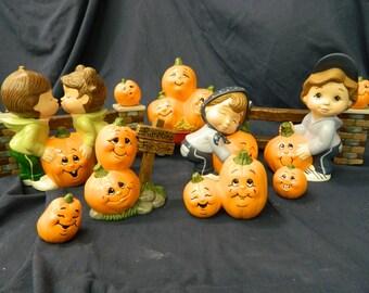 Sweet Tot Pumpkin Patch Scene