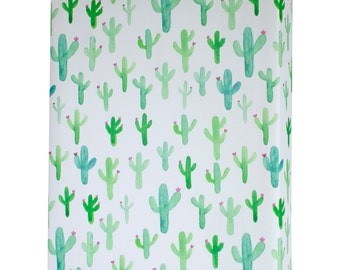 Watercolor Cactus Wrapping Paper - 3 Flat Sheets by Revel & Co. WS1120