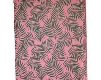 Palm Leaves Tropical Wrapping Paper - 3 Flat Sheets by Revel & Co. WS1117