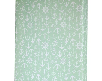 Watercolor Anchors Nautical Wrapping Paper - 3 Flat Sheets by Revel & Co. WS1125