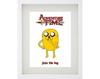 JAKE THE DOG Framed Art Print Collection - Adventure Time