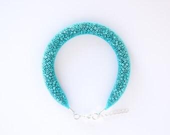 Bracelet mesh turquoise fluor Bluefish