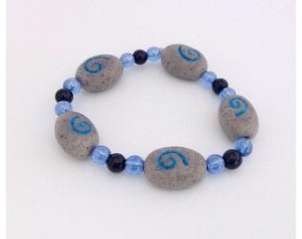 World of Warcraft Inspired Hearthstone Bracelet, Hearthstone Beads, Hearthstone Bracelet, World of Warcraft, 20% OFF