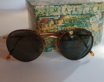 Vintage Giorgio Armani tortoise frames