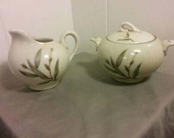 Lanikai Creamer and Sugar Bowl Set