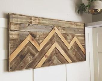 Reclaimed Wood Art, Wood Art, Salvaged wood, Wood wall Art, Modern Wood Wall Art, Rustic Modern, ROUGHHEWN