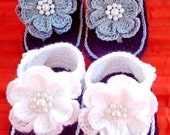 Crochet baby shoes,crochet baby sandals,christenning shoes,Newborn baby shoes,baby shoes,baby sandals,girl shoes,girl sandals,baby blessing