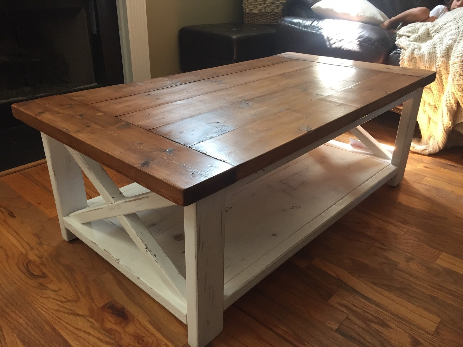 Farmhouse coffee table nifty thrifty momma farmhouse style coffee table farmhouse coffee Farm style coffee tables