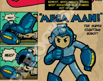 Tales of Nintendo 87 - Mega Man Poster