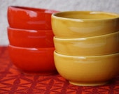 6 ceramic bowls by Waechtersbach, 1970s