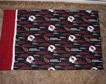Handmade NFL Arizona Cardinals Standard Cotton Pillowcase