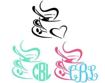 Coffee Lovers Monogram