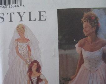 Pattern SIMPLICITY 9163 wedding dress