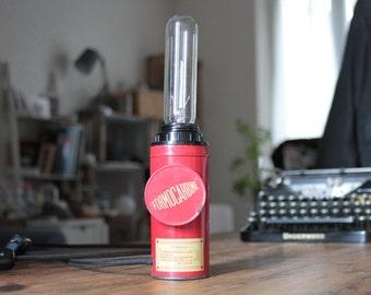 Lamp old box vintage Formocarbine