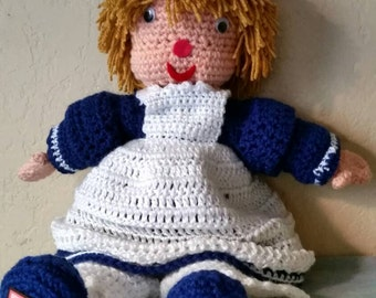Crocheted Doll, Home Decor