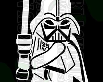 Darth Vader Car Decal