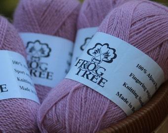 Frog Tree Yarn, Alpaca Wool, Sport Weight, Color #95