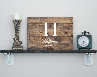 Rustic Wedding Guest Book, Alternative Wedding Guest Book, Wooden Wedding Guest Book, Personalized Wooden Guest Book, Custom Family Sign