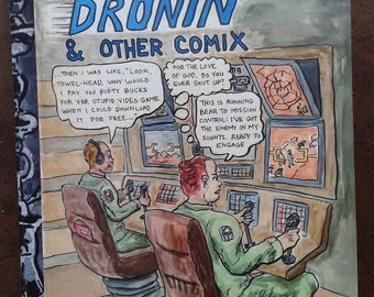 Keep On Dronin' & Other Comix